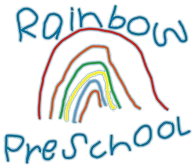 Rainbow Preschool Logo.